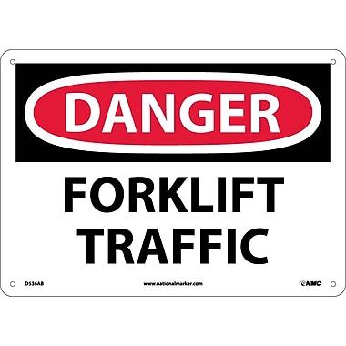Danger, Forklift Traffic, 10