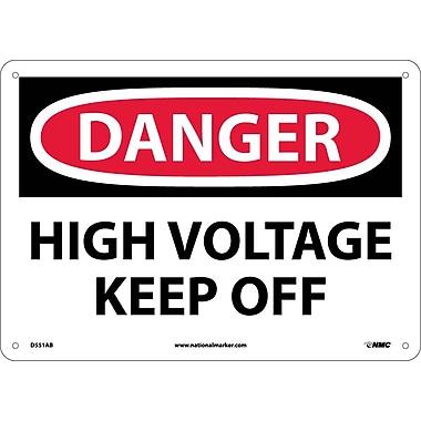 Danger, High Voltage Keep Off, 10