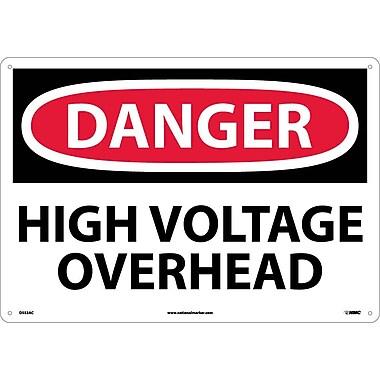 Danger, High Voltage Overhead, 14