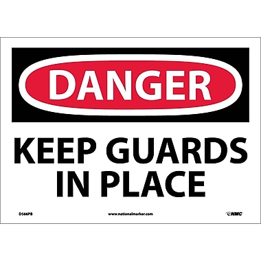 Danger, Keep Guards In Place, 10