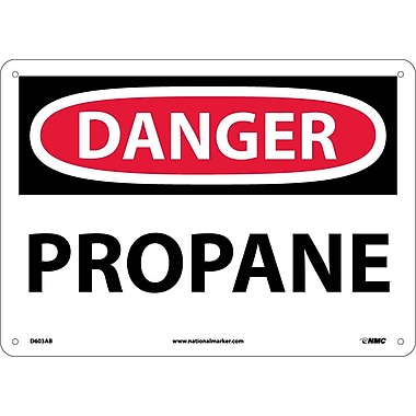 Danger, Propane, 10