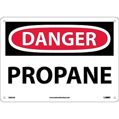 Danger, Propane, 10X14, .040 Aluminum