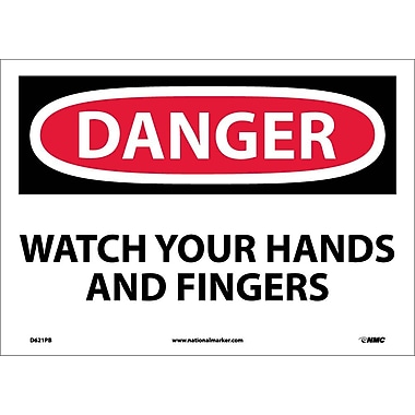 Danger, Watch Your Hands And Fingers, 10