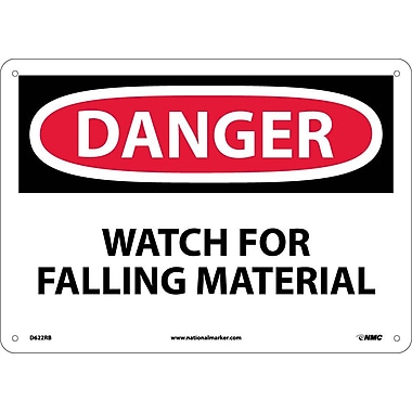 Danger, Watch for Falling Material, 10