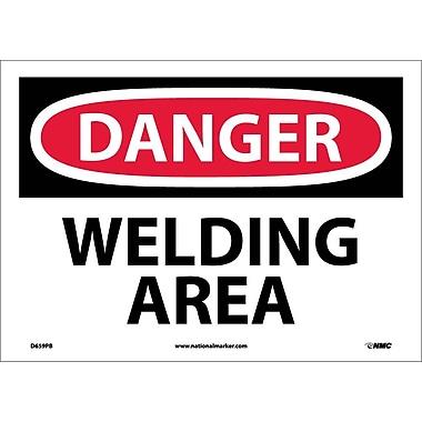 Danger, Welding Area, 10