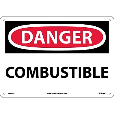 Danger, Combustible, 10