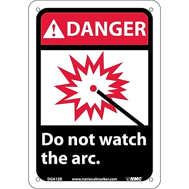 Danger, Do Not Watch The Arc with Graphic, 10