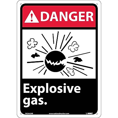 Danger, Explosive Gas, 14