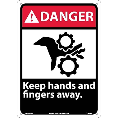 Danger, Keep Hands And Fingers Away, 14