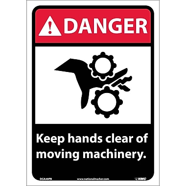 Danger, Keep Hands Clear Of Moving Machinery, 14
