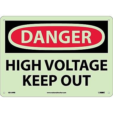 Danger, High Voltage Keep Out, 10