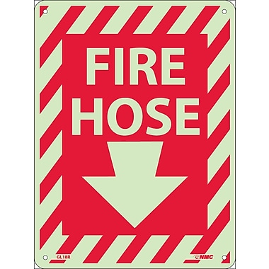 Fire Hose with Down Arrow, 12