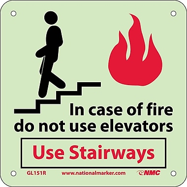Fire, In Case Of Fire Do Not Use Elevators Use Stairways, 7