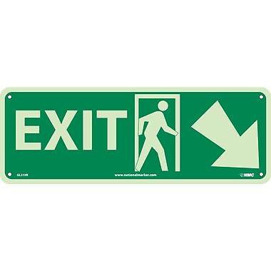 Exit with Door And Right Down Arrow, 5