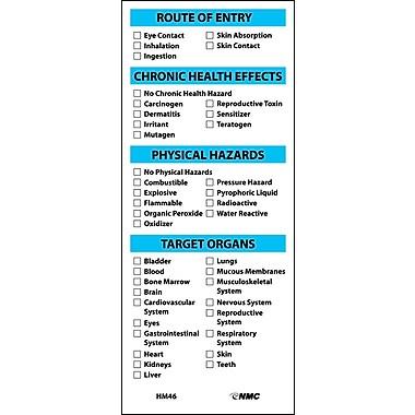 Target Organ Labels, 6