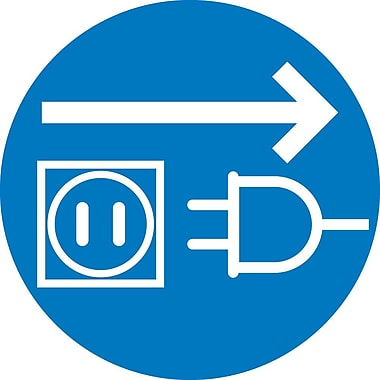 Label, Graphic for Unplug Electrical Supply, 4