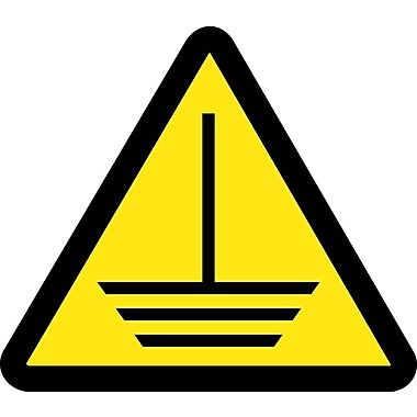 Label, Graphic for Electric Ground Hazard, 4