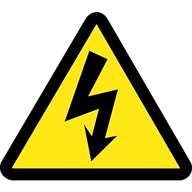 Label, Graphic for Electric Voltage Hazard, 4