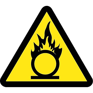 Label, Graphic for Oxidizing Materials Hazard, 4