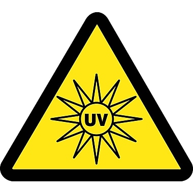 Label, Graphic for UV Hazard, 4