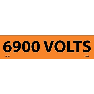 Electrical Markers, 6900 Volts, 2.25