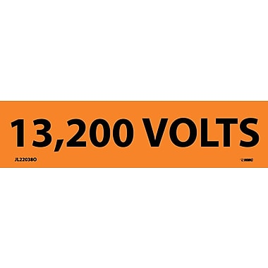 Electrical Markers, 13,200 Volts, 1.125