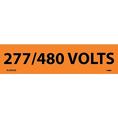 Electrical Markers, 277/480 Volts, 1.125