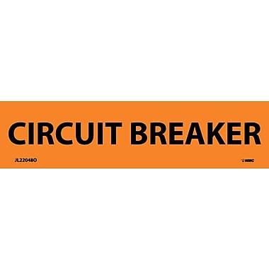Electrical Markers, Circuit Breaker, 1.125