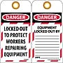 Lockout Lockout Tags, Lockout, Danger Locked Out To