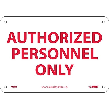 Authorized Personnel Only, 7