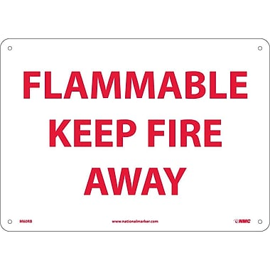 Flammable Keep Fire Away, 10