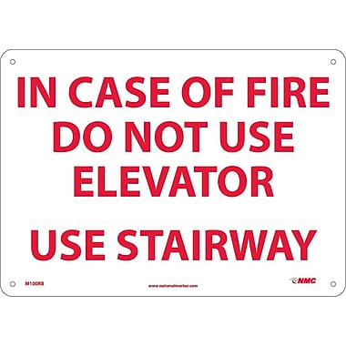In Case Of Fire Do Not Use Elevator Use.., 10