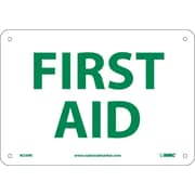 First Aid, 7X10, Rigid Plastic