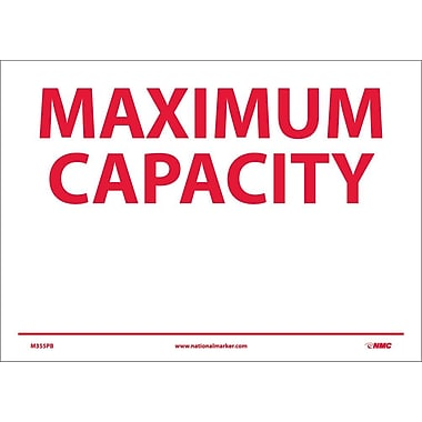 Maximum Capacity, 10