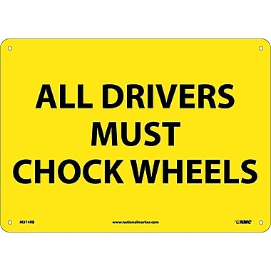 All Drivers Must Chock Wheels, 10