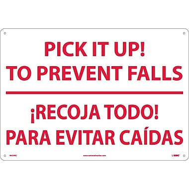Pick It Ip! To Prevent Falls Recoja Todo (Bilingual), 14X20, Rigid Plastic