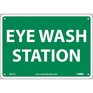 Eye Wash Station, 7X10, .040 Aluminum