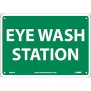 Eye Wash Station, 7X10, .040 Aluminum