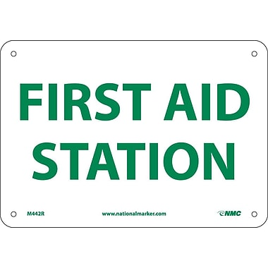 First Aid Station, 7X10, Rigid Plastic