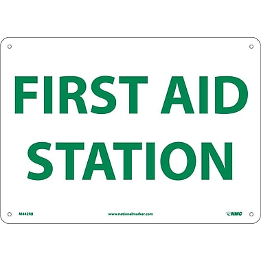 First Aid Station, 10X14, Rigid Plastic
