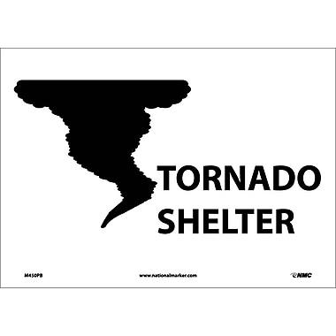 Tornado Shelter, 10X14, Adhesive Vinyl