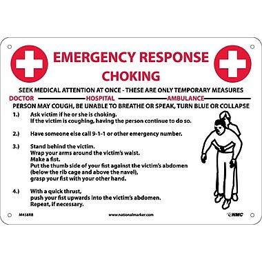 Choke Emergency Response, 10X14, Rigid Plastic
