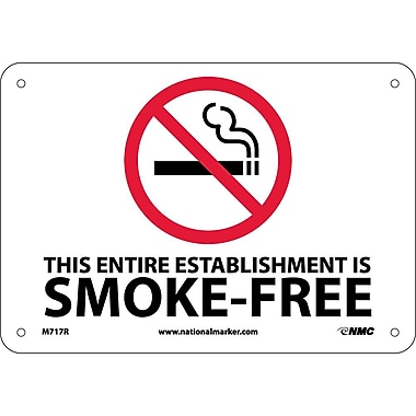 (Graphic) This Entire Establishment Is Smoke-Free Minnesotat Stature 144.411-144.417