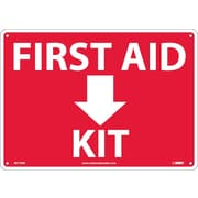 First Aid (Arrow) Kit 10X14, Rigid Plastic
