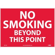 No Smoking Beyond This Point, 10X14, Adhesive Vinyl