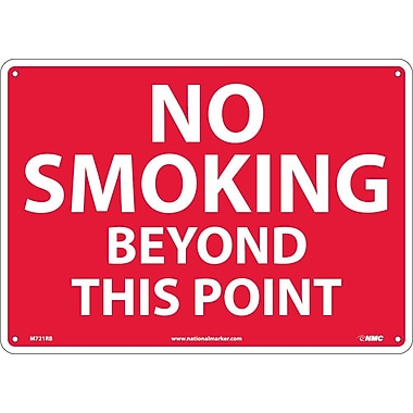 No Smoking Beyond This Point, 10