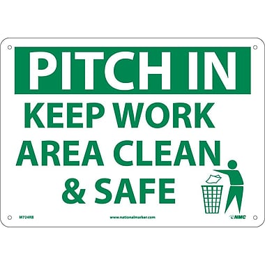 Pitch In Keep Area Clean & Safe, 10
