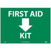 First Aid (Arrow) Kit, 10X14 Adhesive Vinyl