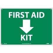 First Aid (Arrow) Kit, 10X14, Rigid Plastic