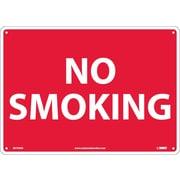 No Smoking, 10X14, .040 Aluminum